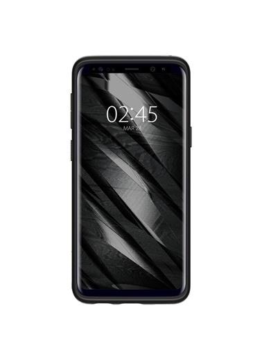 Spigen Spigen Galaxy S9 Kılıf, Spigen Liquid Crystal 4 Tarafı Koruma Siyah